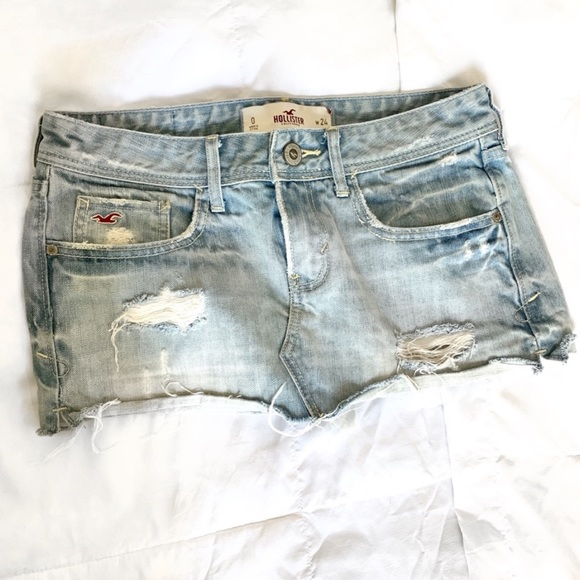 Hollister Dresses & Skirts - Denim Mini Skirt